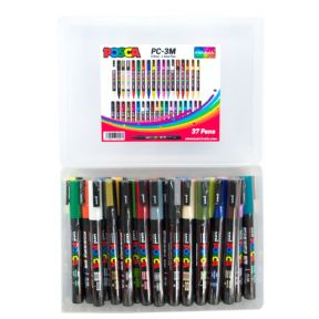 Posca PC-3M 1.5mm Fine tip Markers Mega Pack